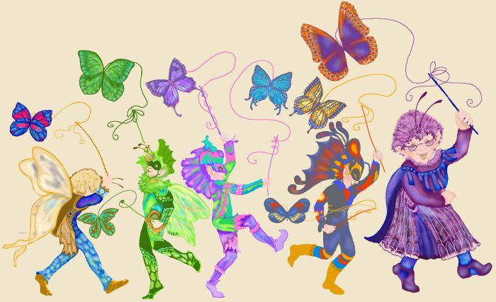 The Elf and Butterfly Parade