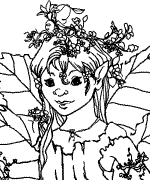 Color The Spring Elf