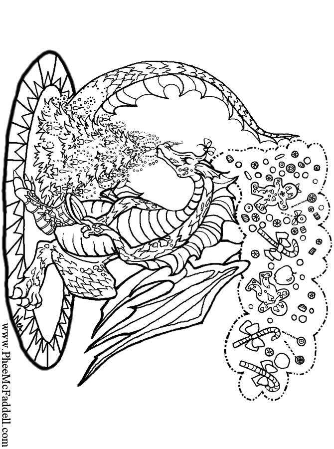 Charistmas Dragon Www Pheemcfaddell Com