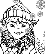 Elves Dragon coloring Page