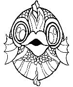 Máscara de pescado