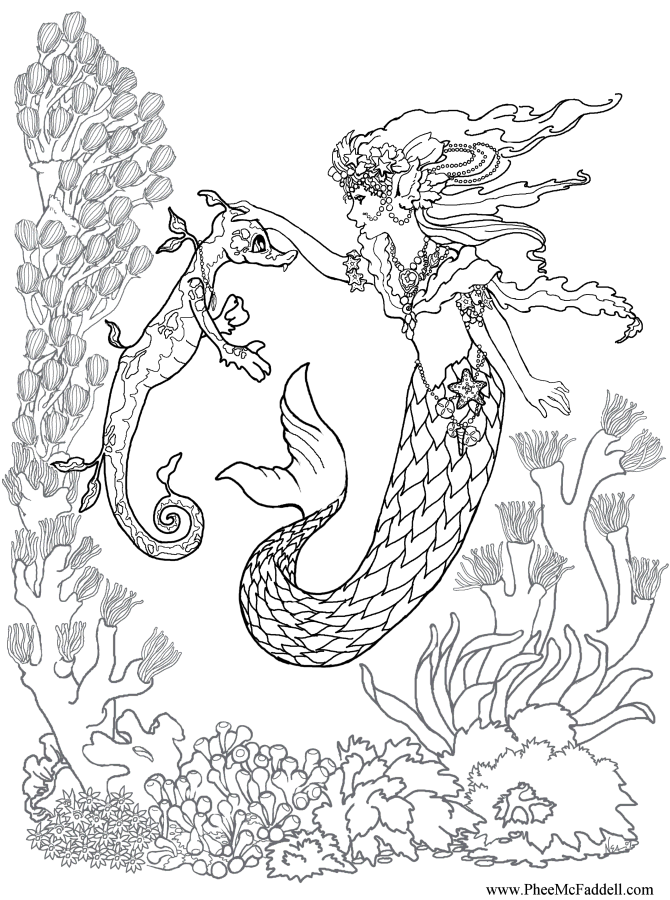 ocean dragon coloring pages - photo#4