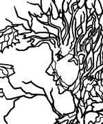 Autumn Spirit Coloring Page