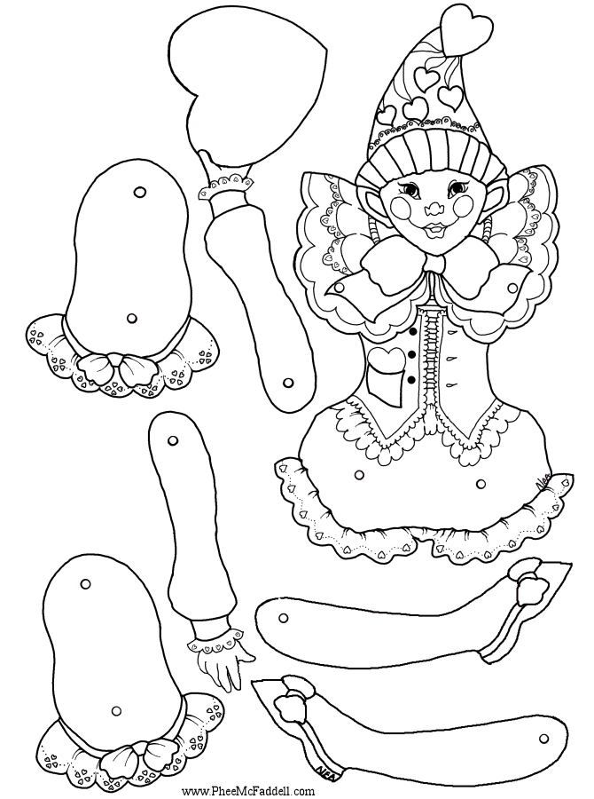 puppets coloring pages - photo#17