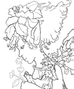 Leaf Fairy Coloring Page