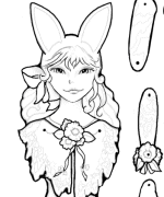 March Puppet Coloring Page