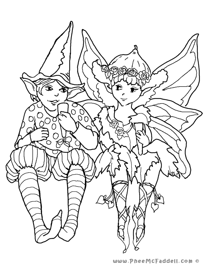 Images Of Fairies. Two Fairies