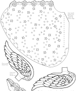 Cone Angel Coloring Page