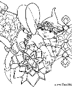 Little Elf Three Coloring Page