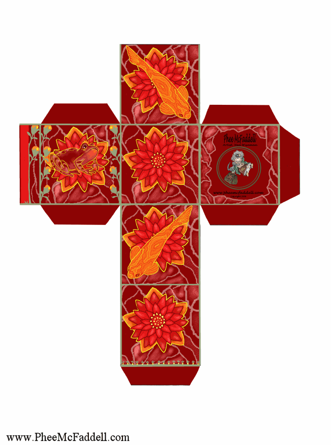 670 x 900 png 75kB, Little Red Gift Box coloring and craft pages. www ...