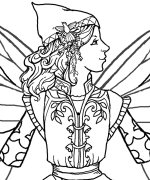 Edain Coloring Page
