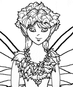 Fairy Puppet Coloring Pages