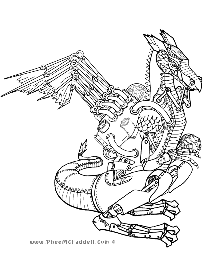 CLAWS Coloring Page