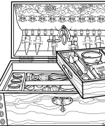 Satchel Coloring Page