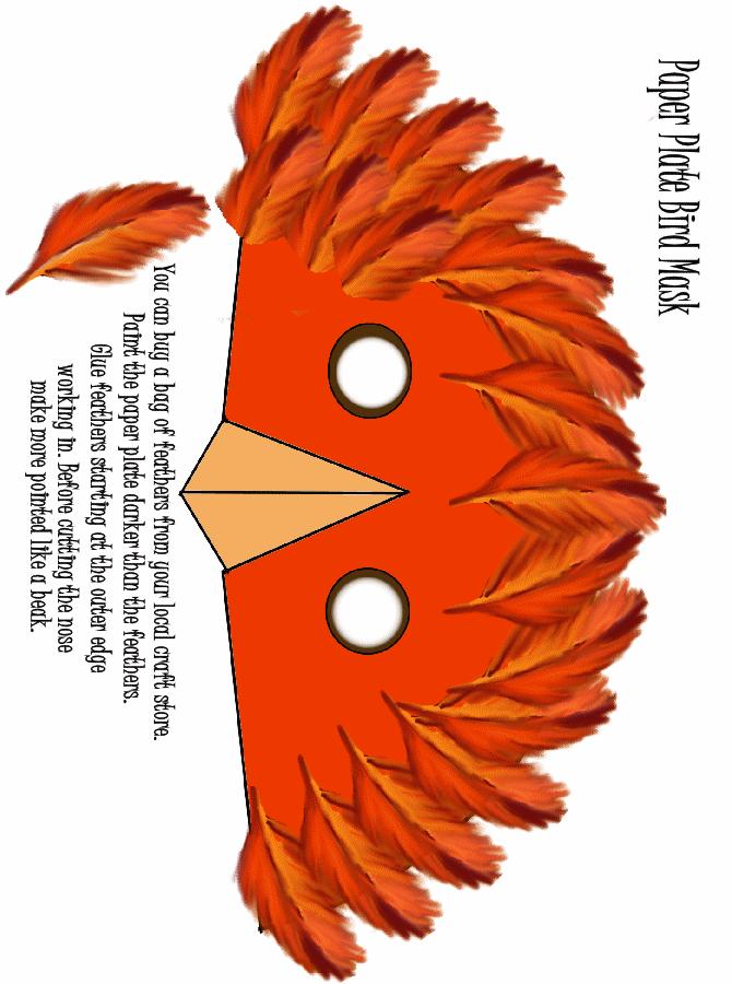 Bast Cat Information .pheemcfaddell.com.  sc 1 st  Phee McFaddell & Paper Plate Bird Mask www.pheemcfaddell.com