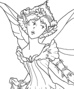 First Fairy Coloring Page