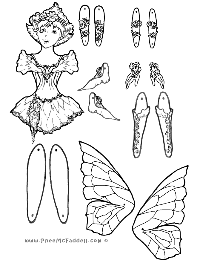 puppets coloring pages - photo#6