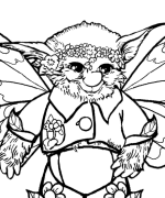 click then print coloring page