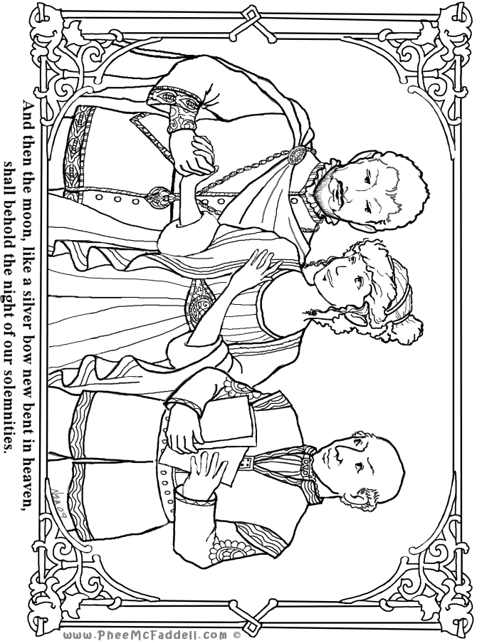 theseus coloring pages - photo#6