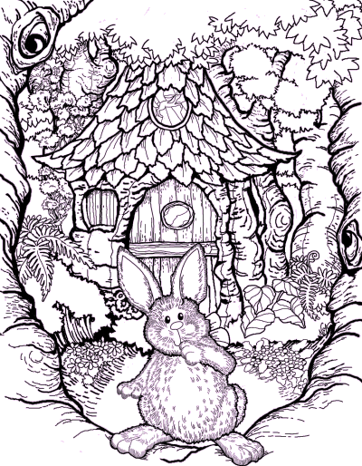 happy easter coloring sign. Happy Easter! Coloring Page