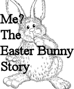 Me The Easter Bunny Coloring Page