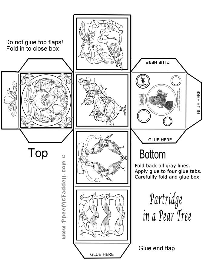 Christmas Box Craft Page
